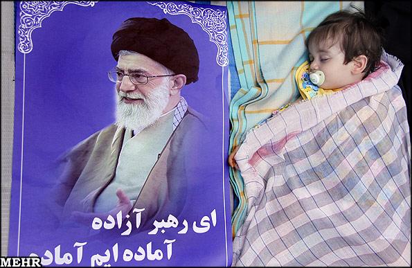 کودک و آقا _ نظر خود را پیرامون این تصویر بیان نمایید