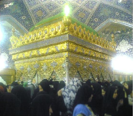 به نام عمه سادات زینب کبری بسم الله(تصاویر حرم مطهر حضرت زینب و رقیه(س))