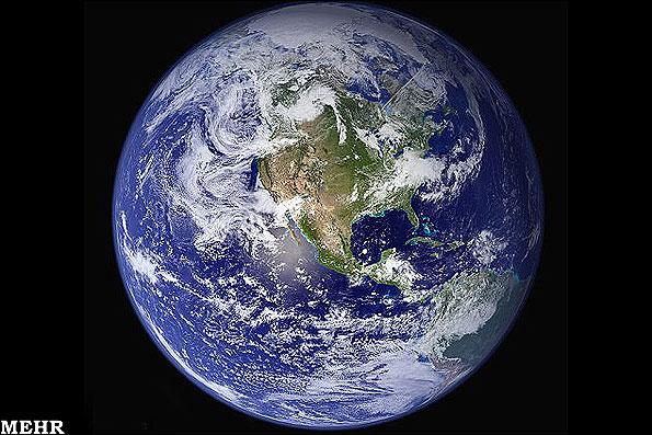 عکس که فضاپیمای ویجر از زمین گرفته....