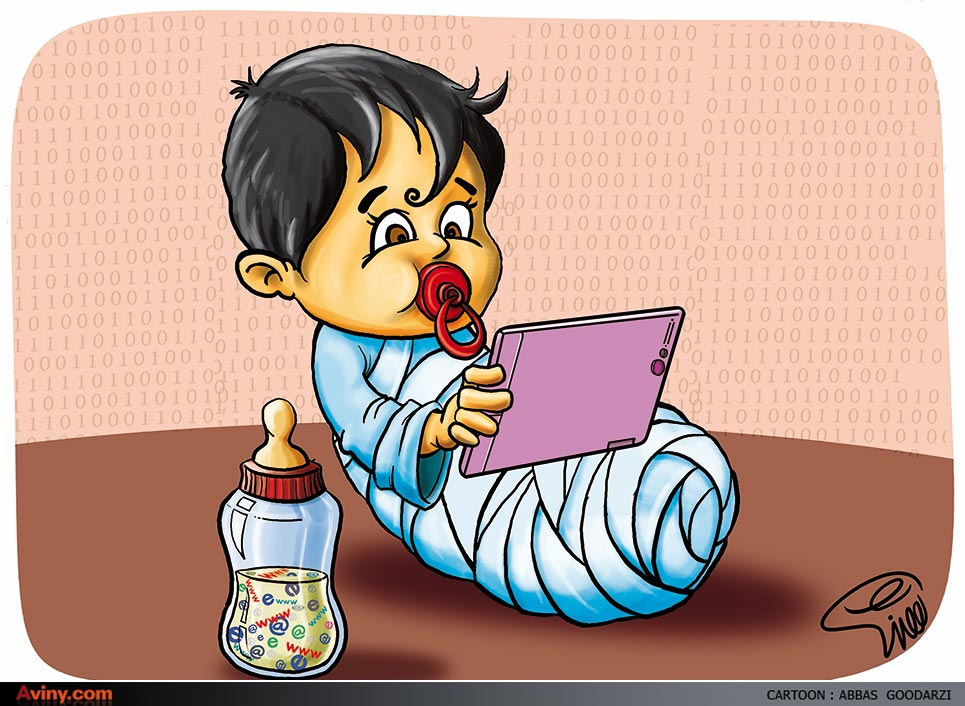 کاریکاتور کودک و رسانه